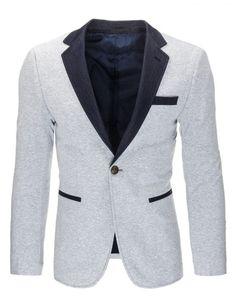 Pánské sako Back - šedé Blazer, Jackets, Fashion, Down Jackets, Moda, Fashion Styles, Blazers, Fashion Illustrations, Jacket