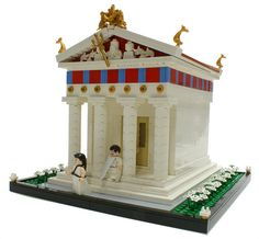 Greek Temple #doric #moc #greek #temple