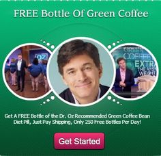 Get Your FREE Trial Of The Dr. Oz Recommended Green Coffee Bean Diet Pills and See How Much You Lose! Get it here  - yournaturalhealthtoday.com/pint #loseweight #weightloss #greencoffeebeanextract #greencoffeebean #greencoffeebeandiet #dr.oz #skinny #workout #highschoolskinny