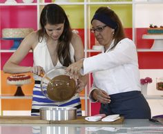 Agatha Moreira: Bolo de Chocolate com Coco | Tortas e bolos > Receita de Bolo…
