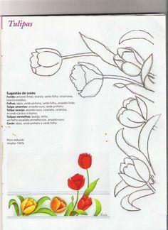 Eliana Pintura e Crochê: Riscos para pintura e patchcolagem