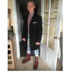 DONSKIN Skinhead Style, Skinhead Men, Skinhead Boots, Skinhead Fashion, Skin Head, Rude Boy, Working Class, Real Men, Leather Men