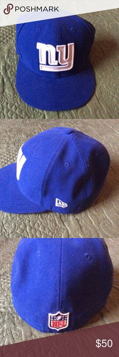 25% off Bundles 🎁 59FIFTY NY Giants Fitted Cap New Era 59 FIFTY New York Giants fitted cap worn some but in good condition. I collect hats. But I want some new ones so time to go. New Era Accessories Hats