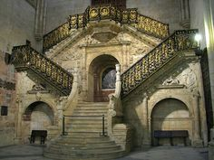Burgos Cathedral Staircase