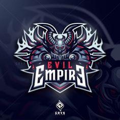 """Febryan """"Graves"""" Satria (@grvs.design) • Instagram photos and videos Team Logo Design, Mascot Design, Empire Logo, Go Logo, Evil Empire, Youtube Logo, Esports Logo, E Sport, Logo Sticker"""