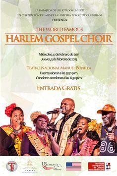 Honduras, Nación y Mundo: Concierto gratuito del Harlem Gospel Choir