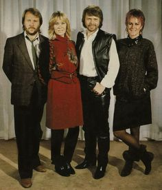 ABBA - The last picture as an active group 1982