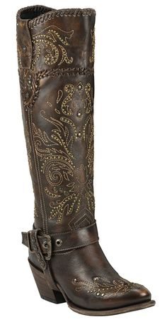 Black Star ANDROMEDA (Brown) Women's Western Fashion Boots > Hurry! Check out this great shoes : Women's cowboy boots