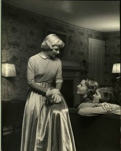 Wellesley girls, 1949. By Nina Leen.