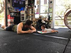 CrossFit for all ages!  Lead Coach @bal4eva with his son Henry giving him pointers on his Arch Rocks  #choosetobestrong | #crossfit | #wod | #success | #accountability | #followme | #follow | #results | #fitfam | #community | #instafit | #instapic | #instagood | #strong | #fitness | #love | #cf925 | #fit | #athletes | #fun | #family | #the925difference | #sanantonio | #strongertogether