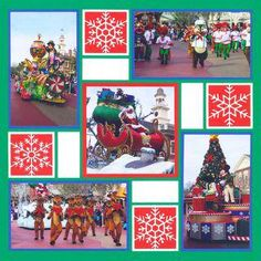 Pattern Gallery - Mosaic Moments Page Layout System Christmas Scrapbook Layouts, Disney Scrapbook Pages, Baby Scrapbook, Scrapbook Cards, Scrapbooking Ideas, Scrapbook Examples, Scrapbook Templates, Scrapbook Sketches, Scrapbook Page Layouts