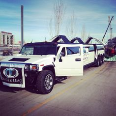 Denver limo at the stock show parade in Colorado Www.limoservicedenver.com  #denver #stock show #limos