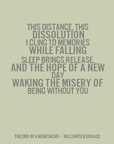 The end of a headache~ Killswitch Engage