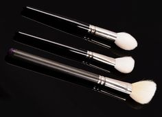 Must-Have Contour Brushes: Hakuhodo J5521, Hakuhodo J511, MAC 168