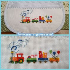 quilting like crazy Baby Cross Stitch Patterns, Cross Stitch Borders, Baby Knitting Patterns, Cross Stitch Designs, Cross Stitching, Cross Stitch Embroidery, Embroidery Patterns, Hand Embroidery, Cross Stitch Quotes