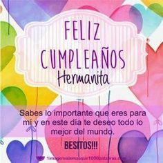 Happy Birthday Wishes Cards, Happy Birthday Celebration, Happy Birthday Images, Birthday Pictures, Birthday Messages, Birthday Greetings, Happy Brithday, Happy Birthday Sister, Diy Birthday