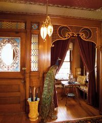 victorian interiors images fall - Google Search