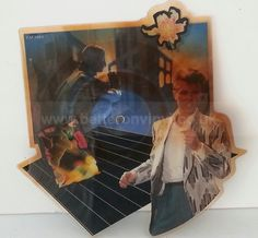 DAVID BOWIE, Loving the alien. Die-cut picture disc. - SINGLES all genres, Including PICTURE DISCS, DIE-CUT, 7