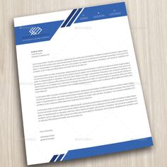 25 best letterhead templates for all types of business images on company letterhead business corporate letter head format accmission Gallery