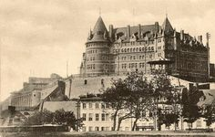 Chateau Frontenac Quebec City, Cathedral, Images, Louvre, France, Building, Travel, Historical Pictures, Antique Pictures
