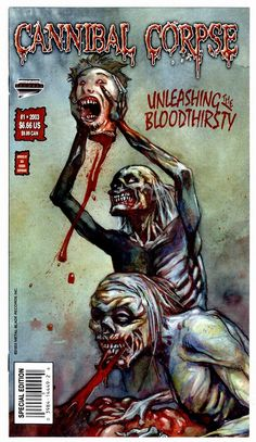 Cannibal Corpse Comic! I need this! m/