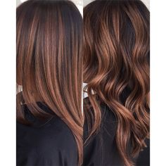 Improve The Look Of Your Hair With These Excellent Tips Brown Hair Balayage, Brown Blonde Hair, Balayage Brunette, Hair Color Balayage, Brunette Hair, Hair Highlights, Rich Brunette, Copper Balayage, Balayage Straight