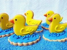 PETIT FOUR: 3d Cookies [Duck}