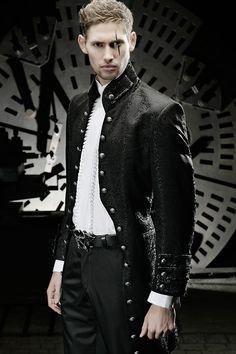 professional goth male fashion - Google Search
