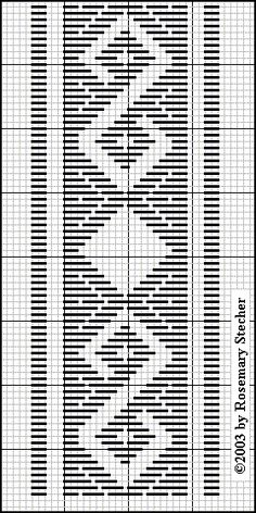 Chart for pattern darning Hardanger Embroidery, Hand Embroidery Stitches, Embroidery Techniques, Ribbon Embroidery, Bargello Needlepoint, Needlepoint Stitches, Plastic Canvas Stitches, Plastic Canvas Patterns, Cross Stitch Designs