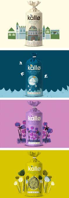 Kallo, food packaging design #packagingdesign #design Visit us at www.wer1digital.co.uk