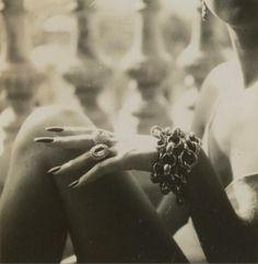 Florette a Cannes by Lartigue