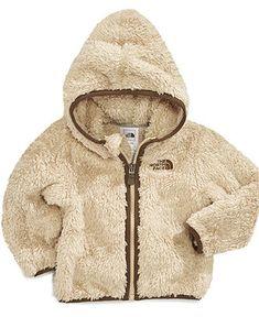 The North Face Baby Jacket, Baby Boys Plush Fleece - Kids - Macy's
