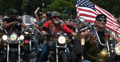 """Marshall Report (h/t Emma) Bikers for Trump announced on their Facebook page that """"Patriotic Bikers, from all across the United States are planning to show ..."""