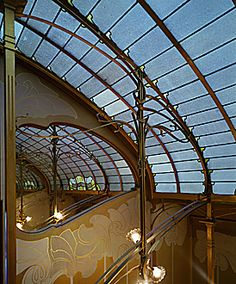 Victor Horta's House/ Muesuem. One of my favourite buildings in the world!