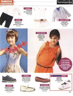 Famiglia Cristiana - 30 marzo 2014 Special #shoes for your little girl by #NeroGiardini Junior