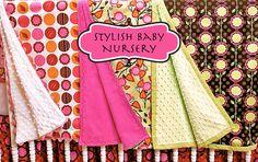Stylish+Baby+Nursery:+The+Three+Blankets
