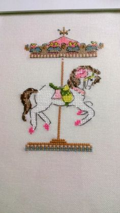 Atlıkarıncam Cross Stitch Love, Cross Stitch Animals, Cross Stitch Charts, Cross Stitch Embroidery, Cross Stitch Patterns, Carosel Horse, Summer Fun For Kids, Swedish Weaving, Baby Knitting Patterns