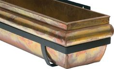"""Rustic Copper Window Box, 48"""" - Traditional - Outdoor Planters - H Potter      $229"""