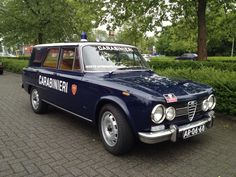 Alfa Romeo Giulia Station Wagon customised for the Carabinieri Corps