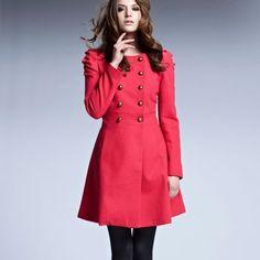 Manteau évasé à plis épaules femme - 3 Suisses
