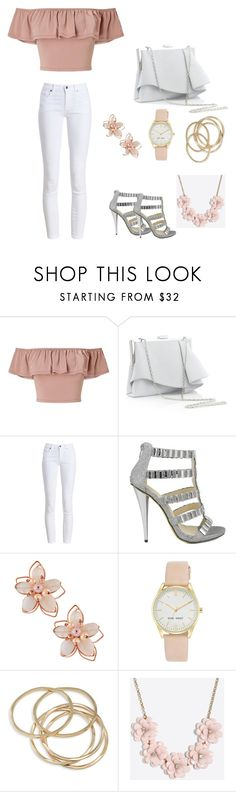 """""""Untitled #25"""" by makeup-lover-101 ❤ liked on Polyvore featuring Miss Selfridge, Coast, Barbour, Celeste, NAKAMOL, Nine West, ABS by Allen Schwartz and J.Crew"""
