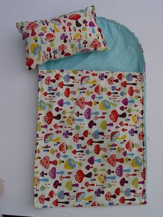 awesome tutorial for stuffed animal/baby sleeping bags and pillow.