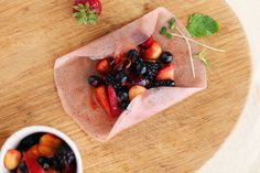 These Summer Fruit Samosas pack fresh berries and vanilla into sweet coconut wrappers. Ingenious!