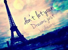 Make it a Reality quote france paris travel eiffel tower dreams life reality lifequote inspiration Paris Amor, Paris 3, I Love Paris, Beautiful Paris, Tour Eiffel, Torre Eiffel Paris, Life Quotes Love, Dream Quotes, Quotes Quotes
