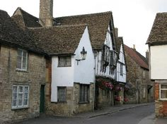 """""""Sign of the Angel"""" is a restaurant & inn in Lacock. I can't tell what scene was filmed here. Probs just the Slughorn scenes at the start. Their website has """"Satisfaction"""" font, by the way."""