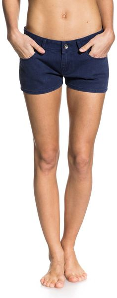 b80babd750 Roxy - Womens Sitting Pretty Colors Jean Shorts at Amazon Women's Clothing  store: