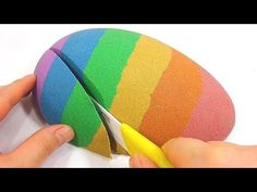 DIY Colors Glitter Jelly Slime Finger Clay Learn Colors Slime Icecream Sand Toy - YouTube