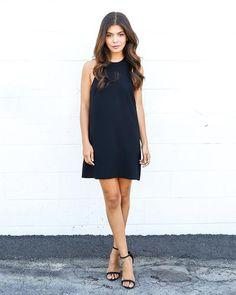 1st Street Dress - Black