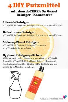 4 DIY Reinigungsmittel Rezepte | Claudia Trummer