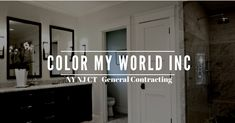 """""""We Create Your Dream Home"""" - Licensed and Insured - General Contractor - Home Renovations & More ⚒ 💻 colormyworldinc.com . . . #ColorMyWorldInc #dreamhome #Renovations #Roofing #NewYork #NewJersey #Connecticut #WestchesterNy #WestchesterCounty #HudsonValley #DreamHome #WednesdayWisdom #Groche #BathroomRemodel #BathroomReno #Yonkers #Westchester #NY"""